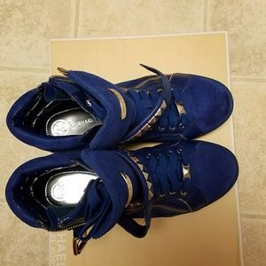 Michael Kors High top sneakers, Cobalt , US 8